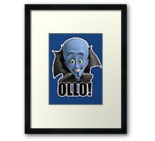 Megamind - Will Ferrell - Ollo! Hello! Framed Print