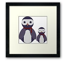 Cool Blu Duo Framed Print