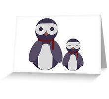 Cool Blu Duo Greeting Card