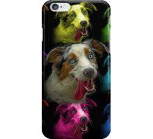 merle australian shepherd - 2136  iPhone Case/Skin