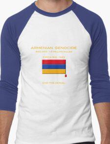 Armenian Genocide Men's Baseball ¾ T-Shirt
