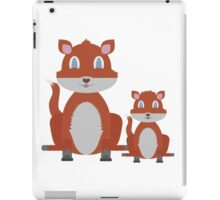 Dune Fox Duo iPad Case/Skin