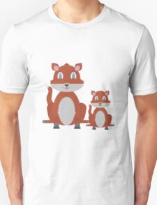 Dune Fox Duo Unisex T-Shirt