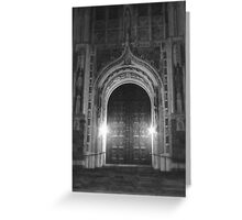 Rosary Cathedral Greeting Card