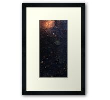 0420 - HDR Panorama - Warm Water Framed Print