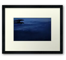0425 - HDR Panorama - Dock Framed Print