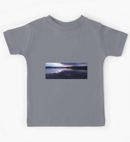 0426 - HDR Panorama - Lavender Sunset Kids Tee
