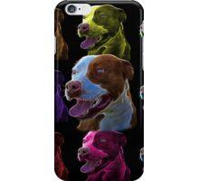 Pit Bull Pop Art - 7773  iPhone Case/Skin