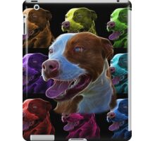 Pit Bull Pop Art - 7773  iPad Case/Skin