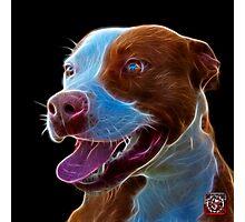 Pit Bull Pop Art - 7773  Photographic Print