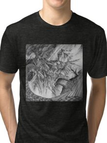Ancalagon at Thangorodrim Tri-blend T-Shirt