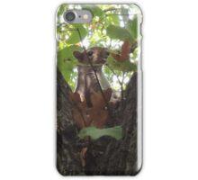 Showcasing a Leaf Costume iPhone Case/Skin