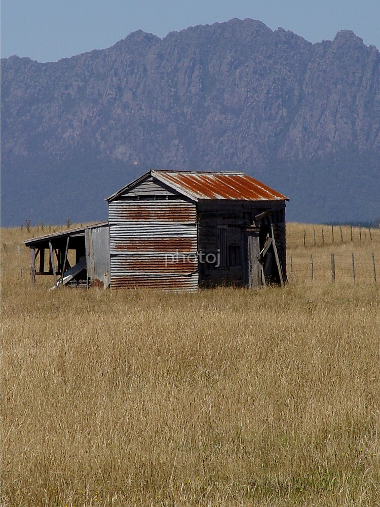 photoj Tas, Country Barn, Mt Roland by photoj