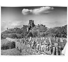 Corfe Castle, Dorset. UK Poster