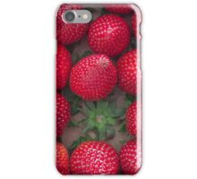 Gourmand strawberries iPhone Case/Skin