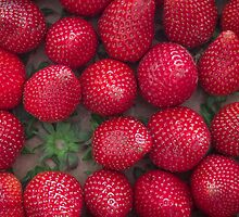 Gourmand strawberries by Raphaël Gabbay
