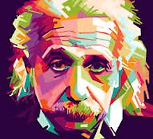 Albert Einstein Clipart by HumanCalculator