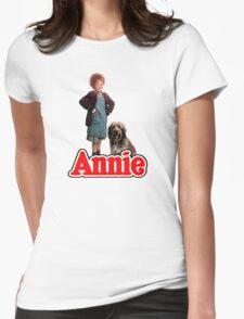 ANNIE - Annie & Sandy Womens Fitted T-Shirt