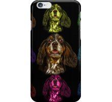 cocker spaniel dog art - 8249 iPhone Case/Skin