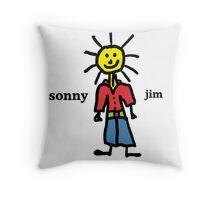 Sonny Jim Throw Pillow