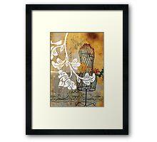 lovebird 03 Framed Print
