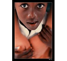 Focus on the  eyes 2 Photographic Print