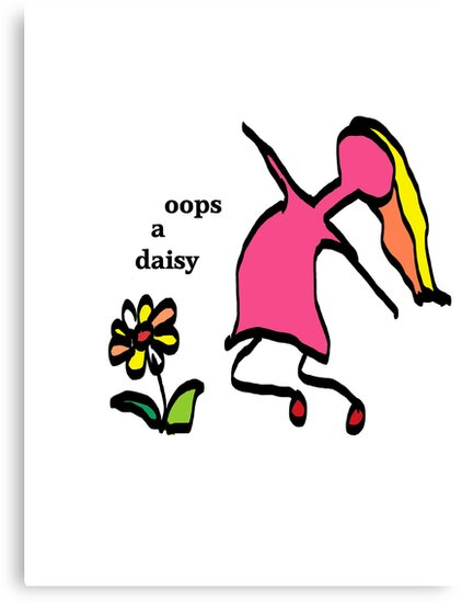Oops a daisy by MrsO