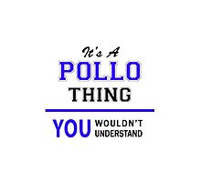 It's a POLLO thing, you wouldn't understand !! by thestarmaker