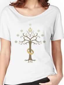 Lord of the Rings Inspired Tree Women's Relaxed Fit T-Shirt