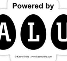 Powered by BALUT Sticker