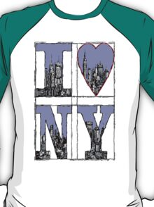 I Love New York T-Shirt