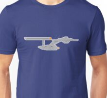 The 8-bit enterprise Unisex T-Shirt