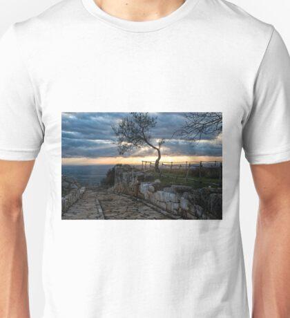 Sunset on Norba Unisex T-Shirt