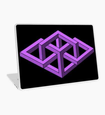 Isometric Impossibilities  Laptop Skin