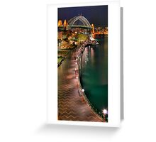 Down to the quay Greeting Card