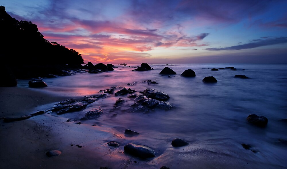 Sunset, Thai Style by Robert Mullner