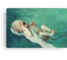 mutant child Canvas Print