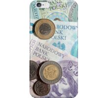 Polish zloty's currency iPhone Case/Skin