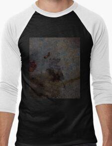 0544 - HDR Panorama - Leaf Rain Shadow Men's Baseball ¾ T-Shirt