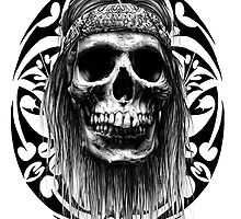Indian tribal skull by kylebunnell