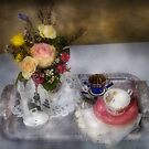 My Grandmothers Tea Set by Mike  Savad