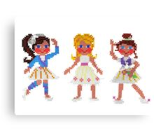 ballet for three Canvas Print