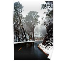 Road to Mt Buffalo Poster
