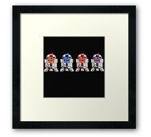 TEENAGE MUTANT NINJA ROBOTS...  Framed Print