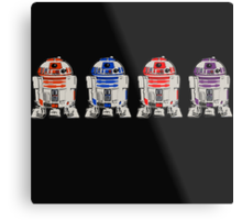 TEENAGE MUTANT NINJA ROBOTS...  Metal Print