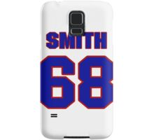 National football player Omar Smith jersey 68 Samsung Galaxy Case/Skin
