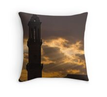 God's Spire Throw Pillow