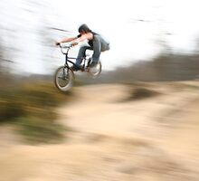 BMX Pan by Richard Edwards