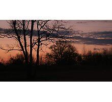 When night falls Photographic Print