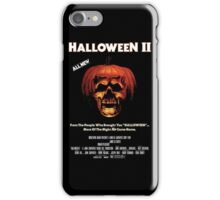 Halloween II iPhone Case/Skin